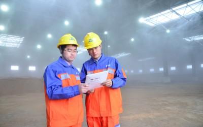 北京金隅混凝土有限公司(顺义站)搅拌站环保改造案例