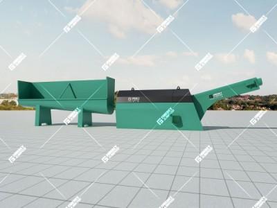 混凝土砂石分离机是混凝土回收系统的核心设备