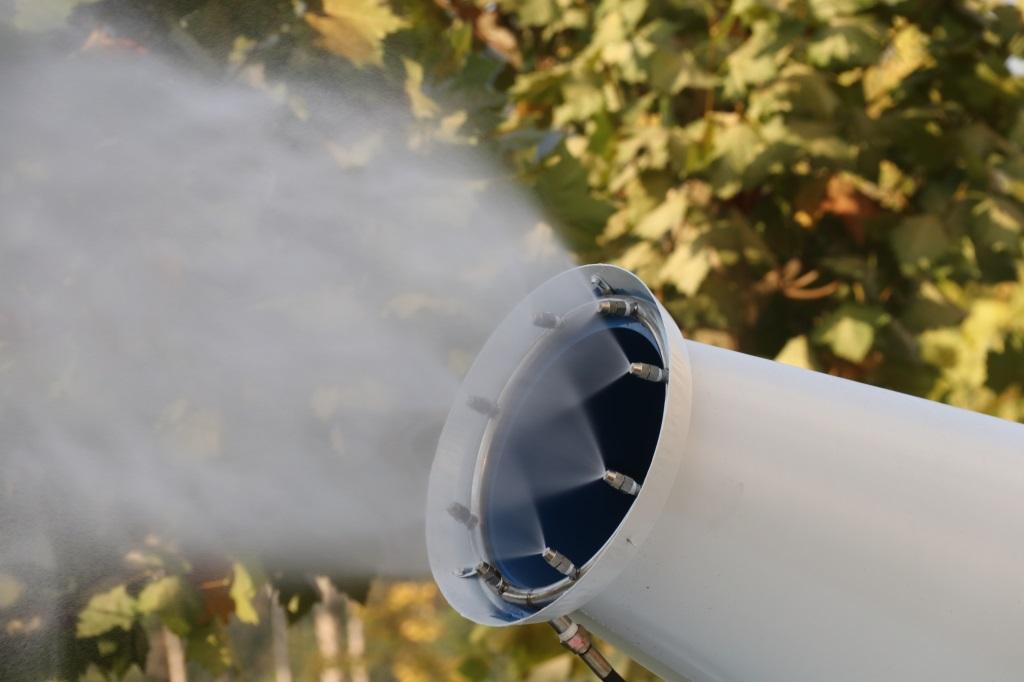 三轮雾炮清洗车
