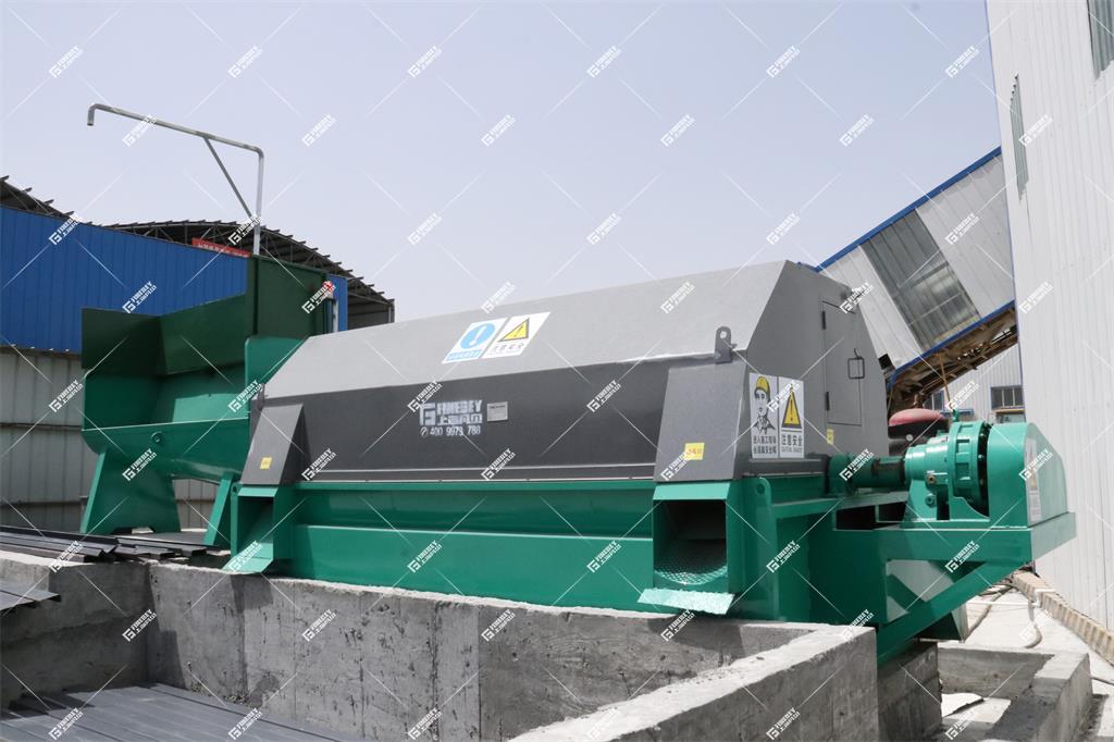 砂石分离机禁止一次性卸入大量的混凝土料