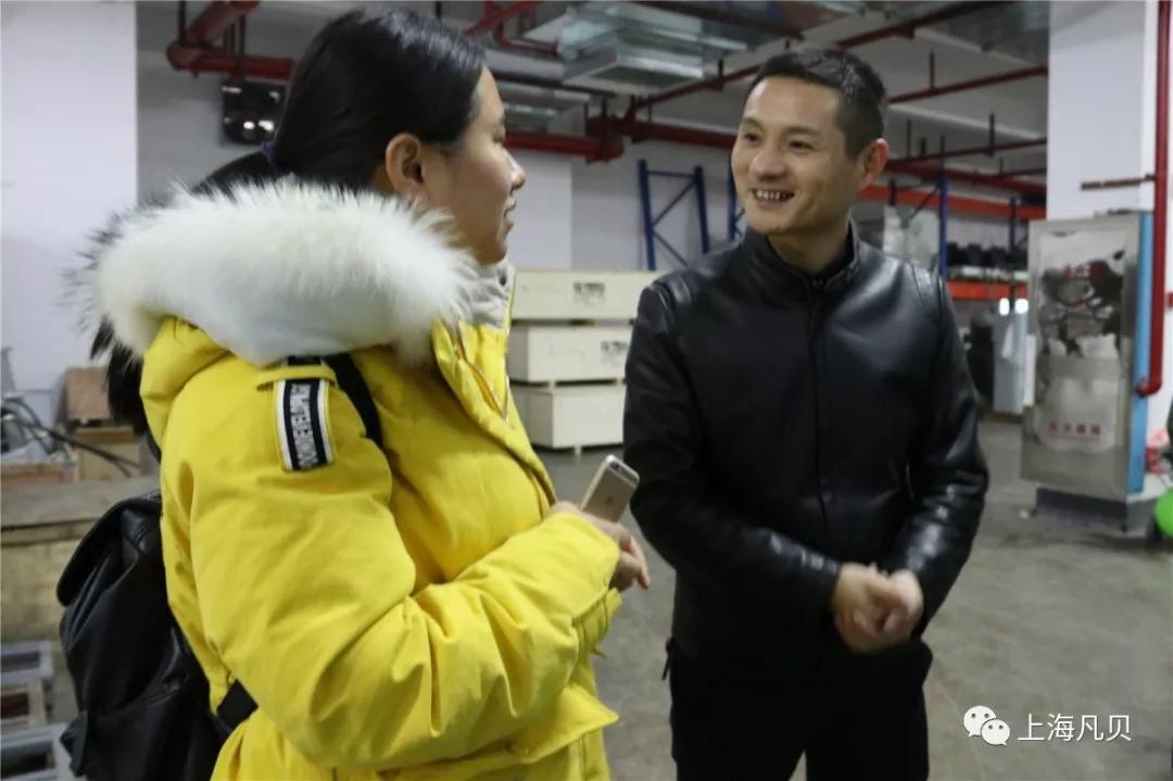 【视点】徐工集团领导莅临上海凡贝长沙生产基地参观考察
