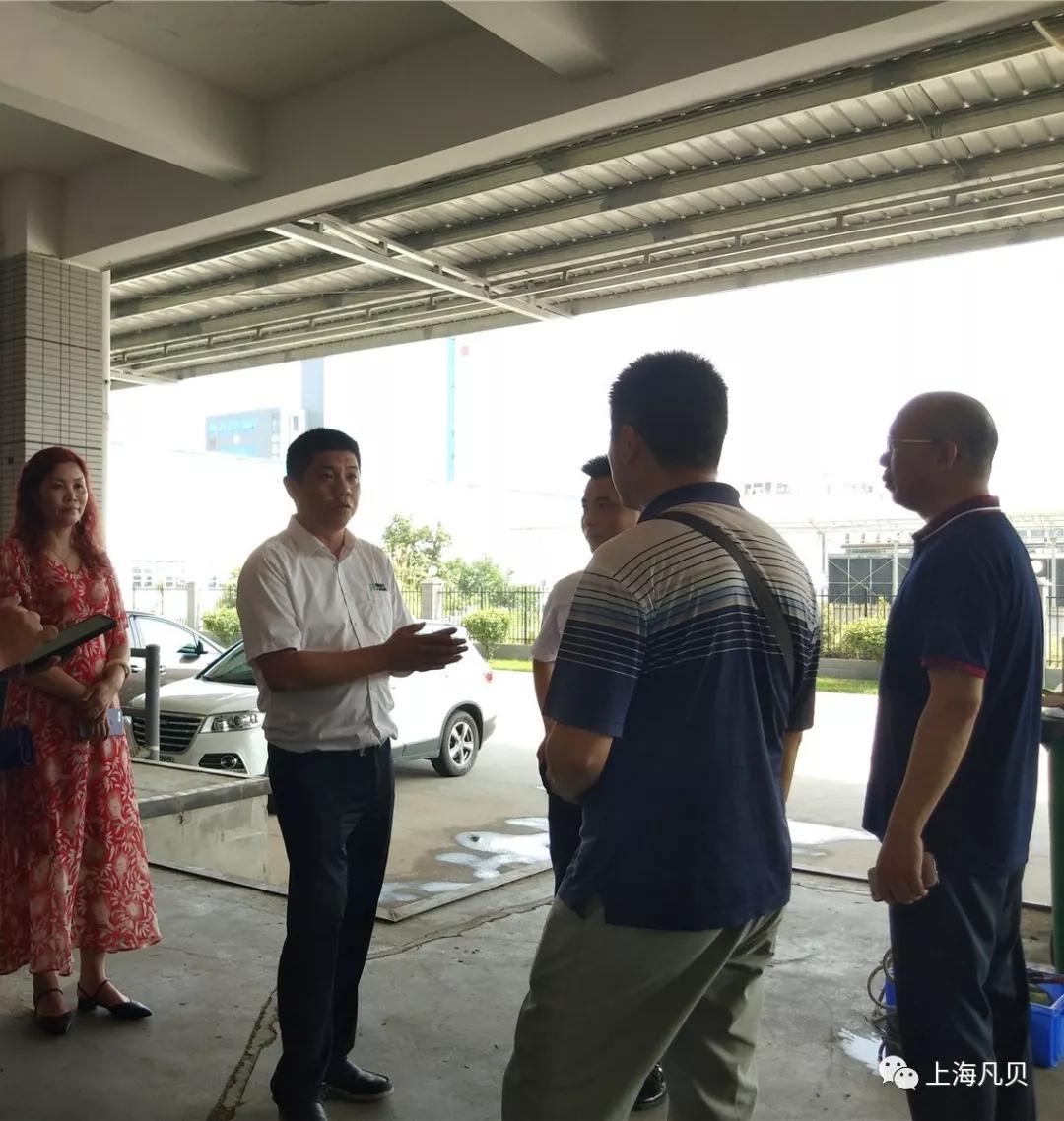 【动态】上海凡贝迎来西南大区考察团参观交流