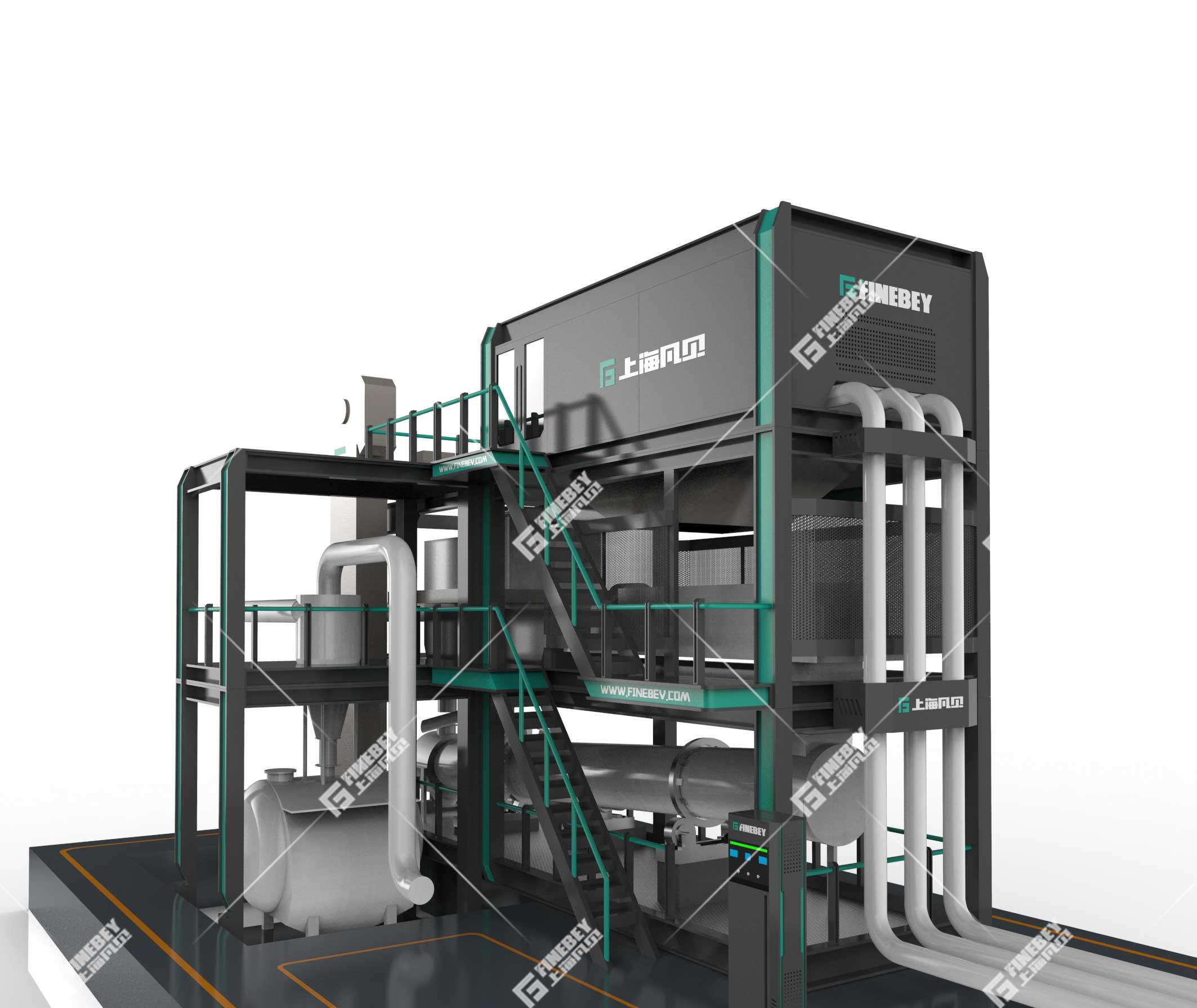 砼站废料回收系统