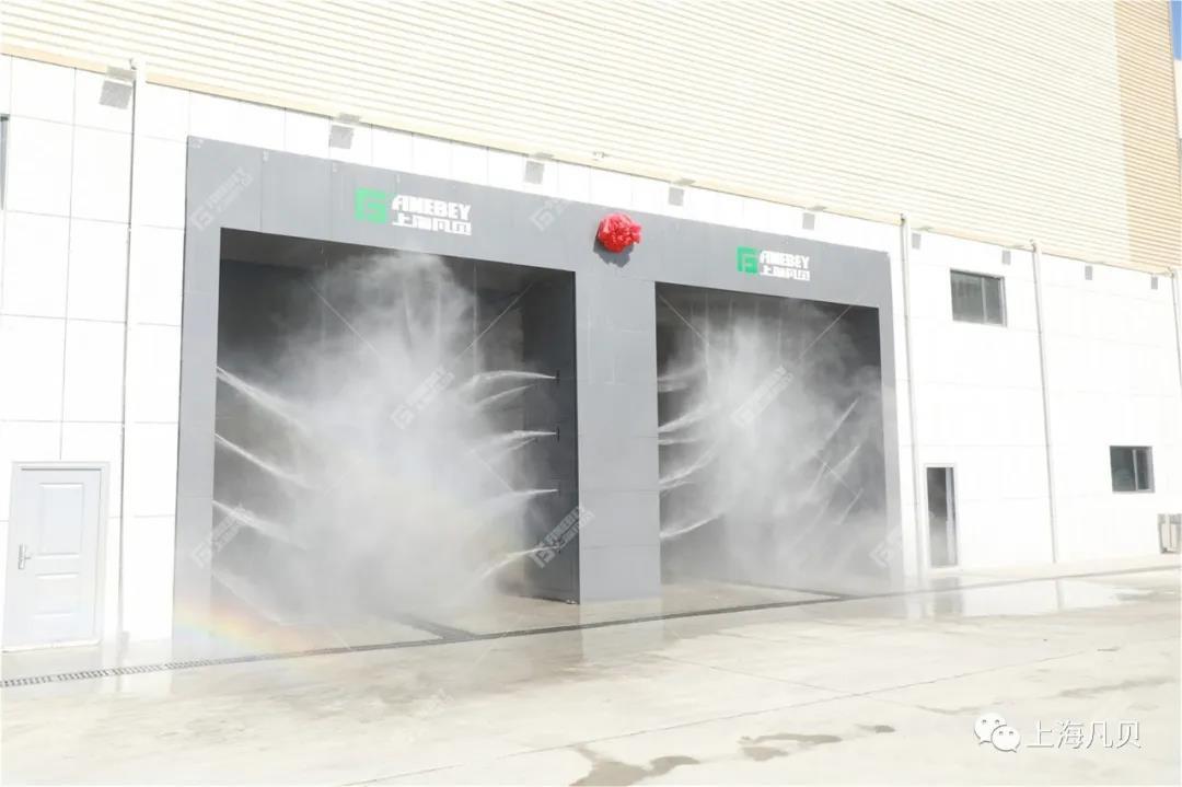 场地面积小就选择卸料口洗车机