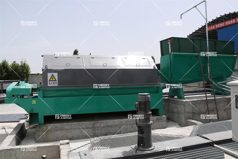 如何安装砂石分离机?