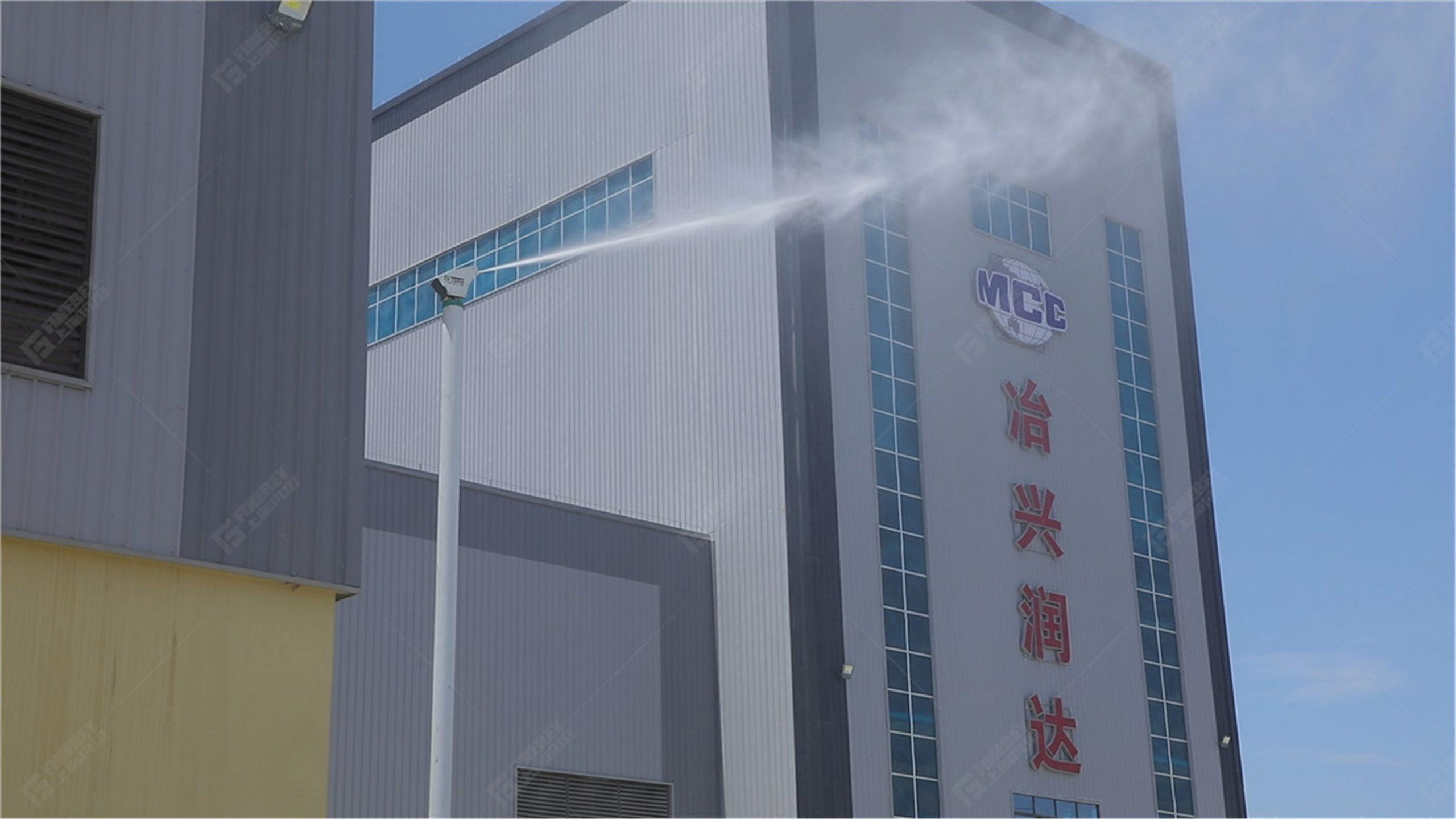 环保新风吹进西南 | 凡贝洗车机、砂石分离机、室外雾桩室内喷雾助力成都冶兴润达打造环保示范性混凝土企业