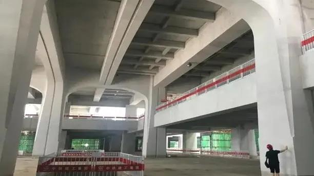 关注 | 京雄城际雄安高铁站清水混凝土工程基本完工