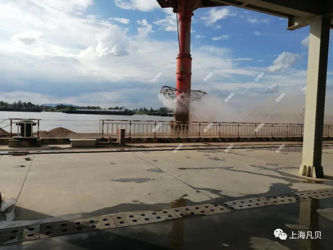 动态 | 上海凡贝干雾抑尘系统在全球最大绿色建筑骨料生产基地成功应用