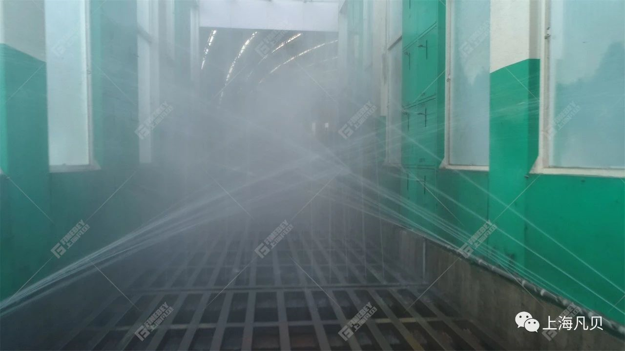 大片来了! 77套FBS-D1室外抑尘设备成功落地晋南钢铁